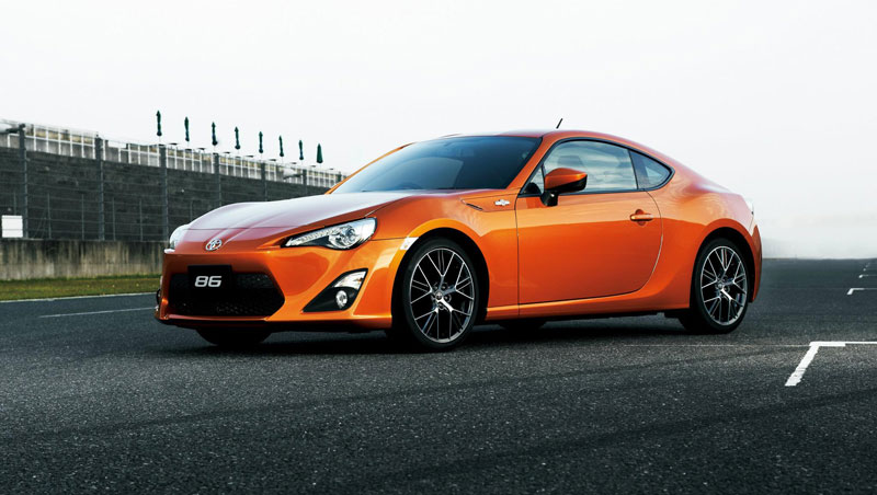 toyota 86 sports car