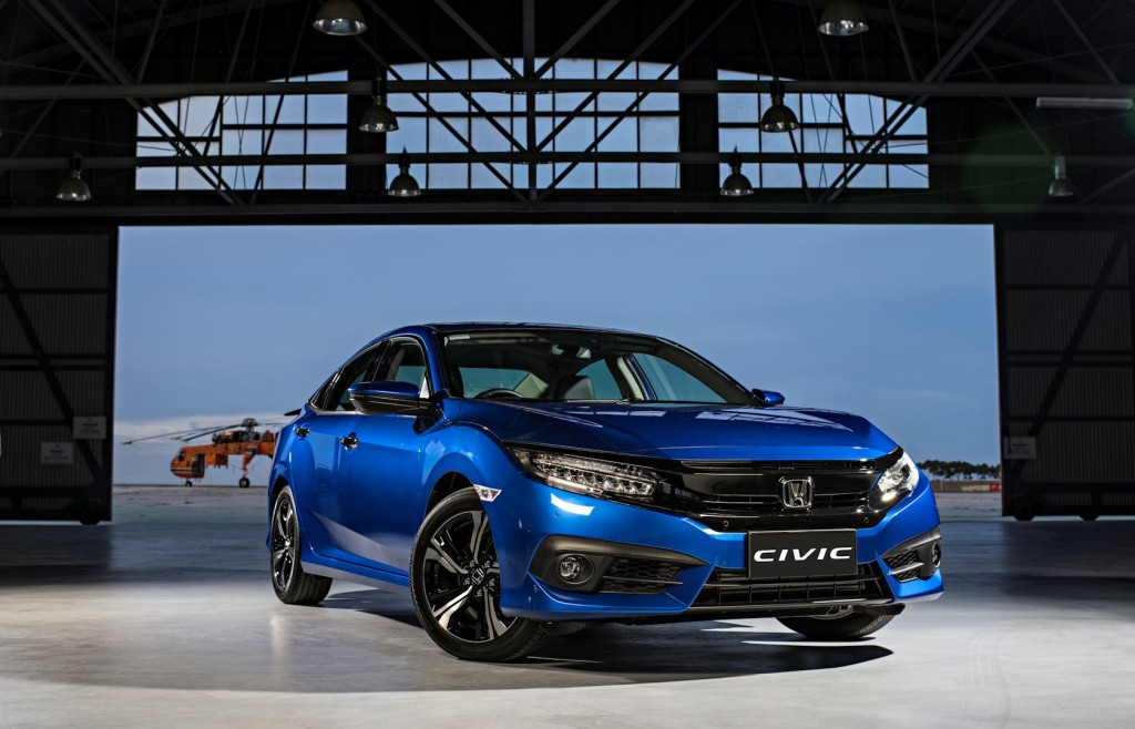 2016 honda civic rs turbo