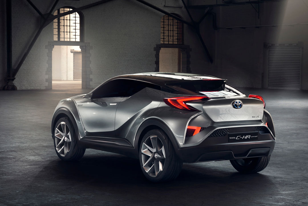 The Toyota-C-HR unveiled at the Frankfurt Show