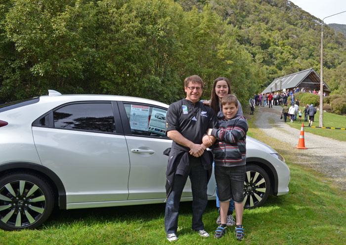 Chris Bowater and family