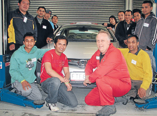 Bowater Honda helps refugees