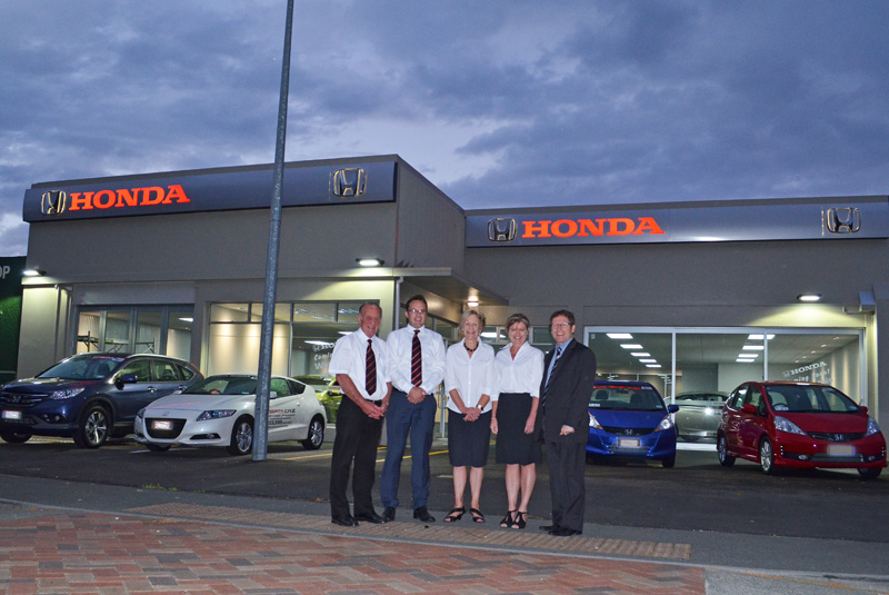 The new Bowater Honda showroom