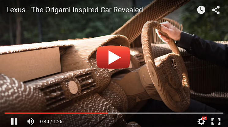 Introducing the worlds first origami car