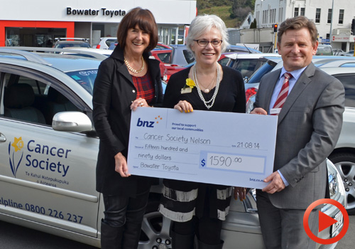 Bowater Toyota Cancer Society