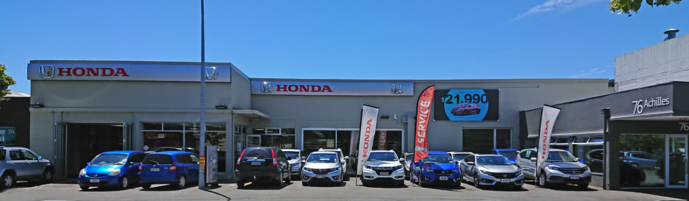 Bowater Honda on Achilles Ave