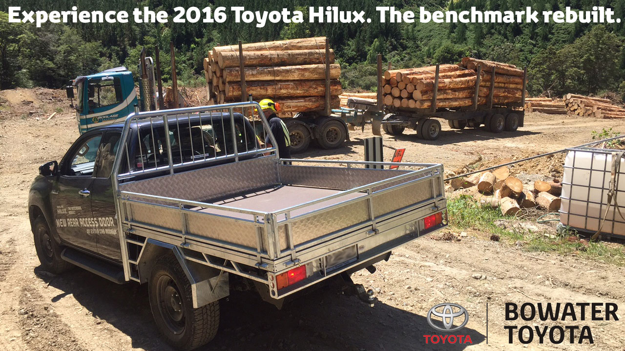 hilux forestry