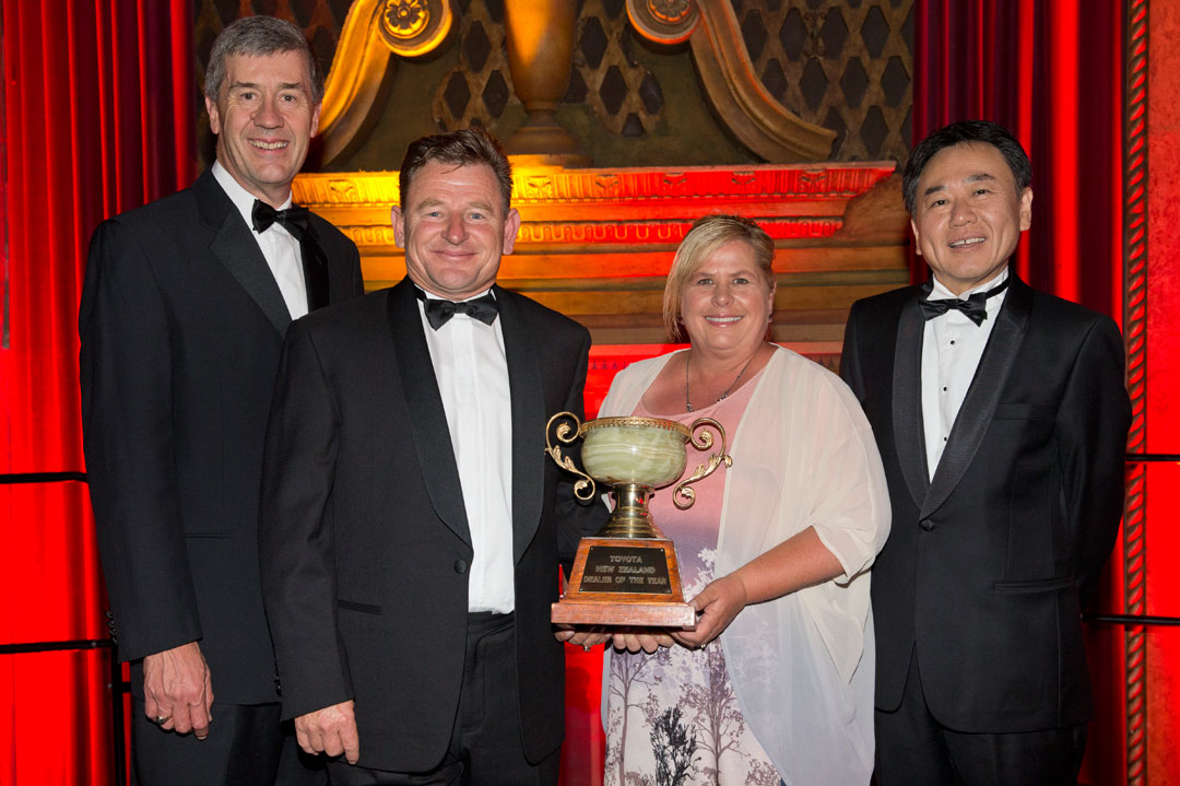 winners of Toyota Dealer of the Year